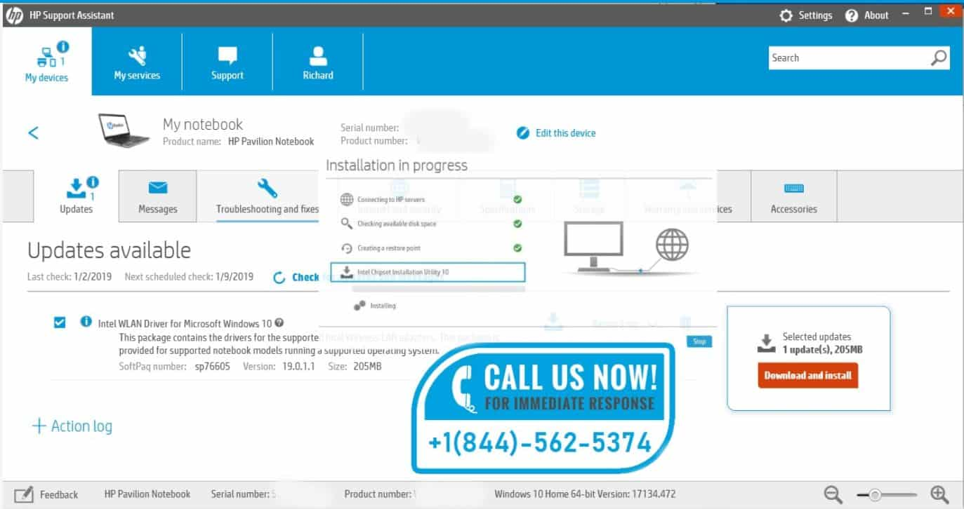 HP Support Assistant For Finding Model Number