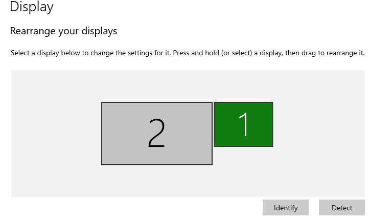 Identify Monitor By number