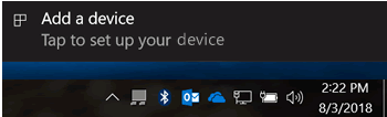 select the device you want to add