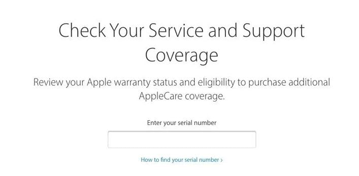 Finding the Age for Your Mac Using Apple Support