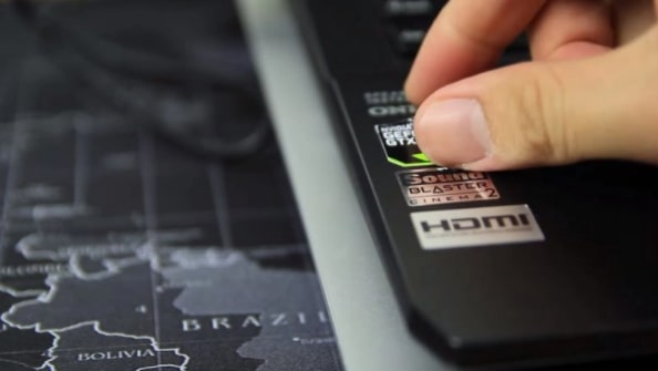Clean the surface of the laptop with a Damp Cloth